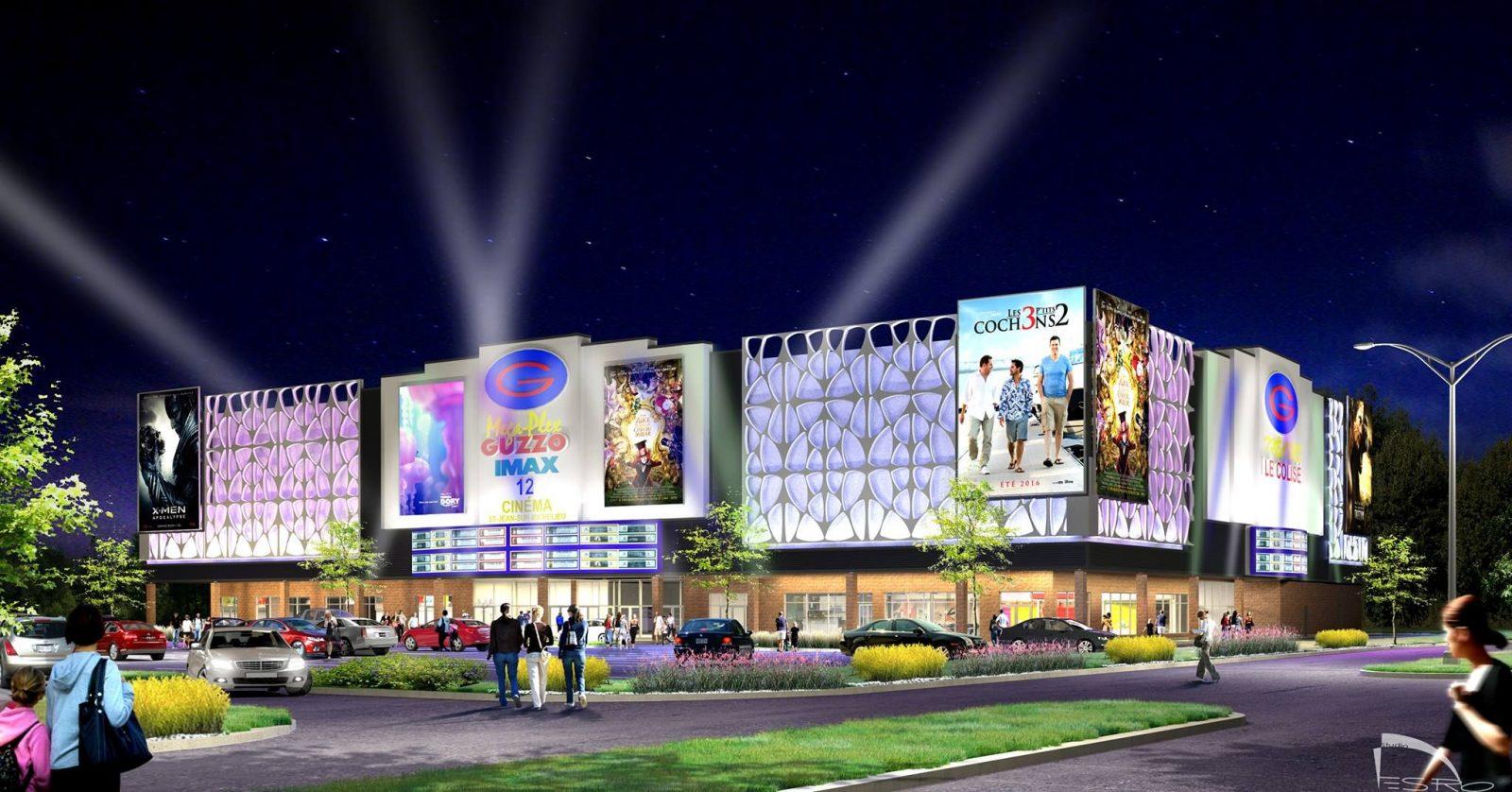 Le Cinéma Guzzo ouvrirait au mois de novembre