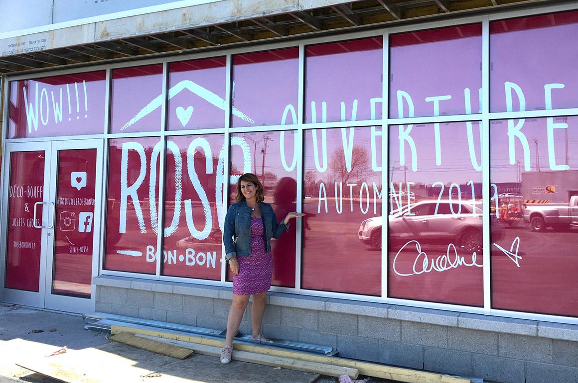 Rose bon bon déménagera à Place Saguenay